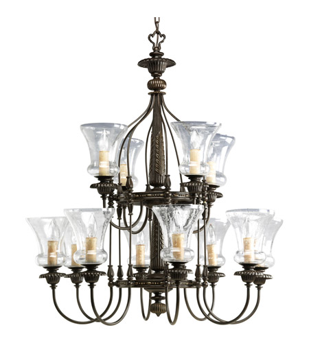Forged Bronze Steel Chandeliers