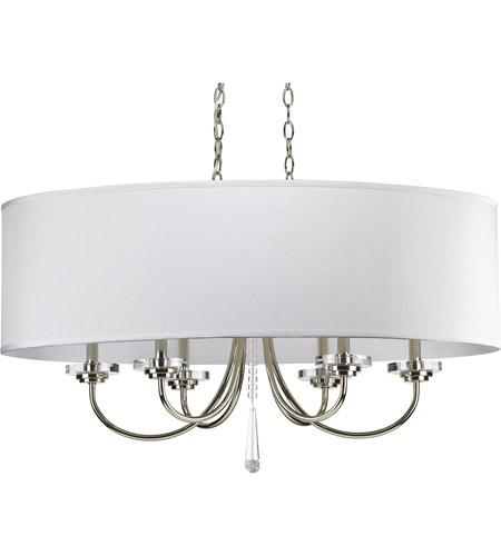 Progress p4431 104 nisse 6 light 36 inch polished nickel chandelier progress p4431 104 nisse 6 light 36 inch polished nickel chandelier ceiling light aloadofball Gallery