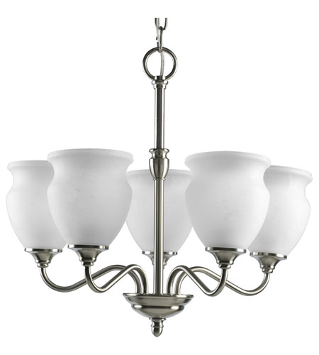 Progress Lighting Richmond Hill 5 Light Chandelier in Brushed Nickel P4447-09 photo