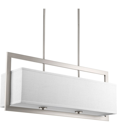 Progress p4759 09 harmony 4 light 34 inch brushed nickel linear progress p4759 09 harmony 4 light 34 inch brushed nickel linear chandelier ceiling light mozeypictures Gallery