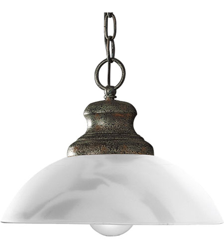 Progress Lighting Travera 1 Light Mini-Pendant in Copper Verde P5014-57 photo
