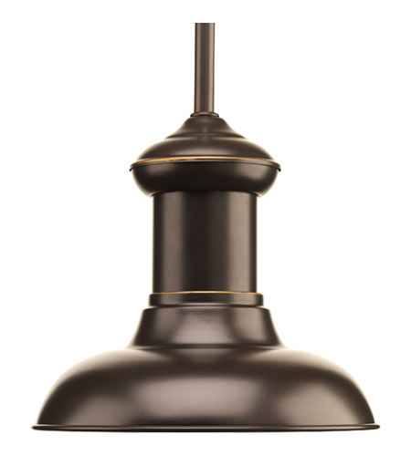Progress P5023-2030K9 Brookside LED 8 inch Antique Bronze Mini-Pendant Ceiling Light photo