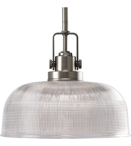 Progress Lighting Archie 1 Light Pendant in Antique Nickel P5026-81 photo