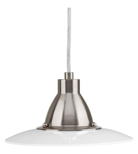 progress p50720930k9 avant led 9 inch brushed nickel minipendant ceiling light - Brushed Nickel Pendant Light