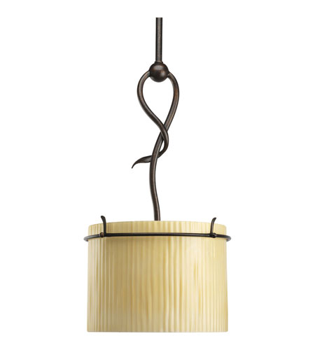 Progress Lighting Thomasville Willow Creek 1 Light Mini-Pendant in Weathered Auburn P5101-114 photo