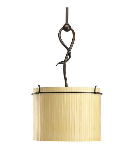 Progress Lighting Thomasville Willow Creek 1 Light Pendant in Weathered Auburn P5133-114 photo
