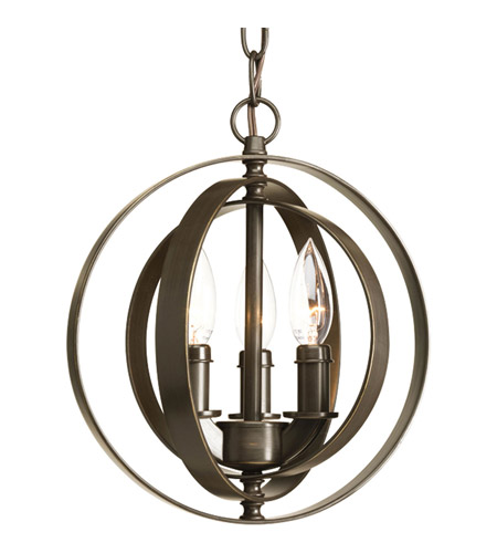 Progress p5142 20 equinox 3 light 10 inch antique bronze pendant progress p5142 20 equinox 3 light 10 inch antique bronze pendant ceiling light aloadofball Choice Image
