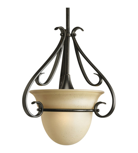 Progress Lighting Torino 1 Light Mini-Pendant in Forged Bronze P5144-77 photo