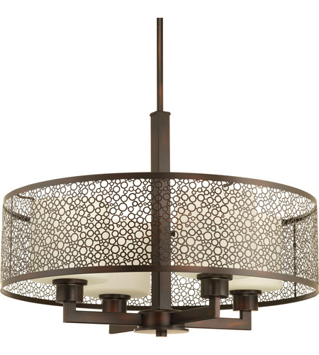 Progress p5156 20 mingle 4 light 21 inch antique bronze pendant progress p5156 20 mingle 4 light 21 inch antique bronze pendant ceiling light in etched spotted tea glass aloadofball Choice Image