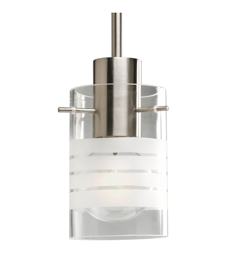 Gl Pendants 1 Light 4 Inch Brushed Nickel Mini Pendant Ceiling