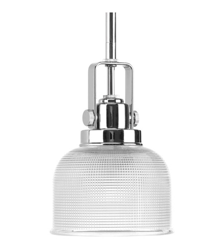 Progress Lighting Archie 1 Light Mini Pendant in Chrome