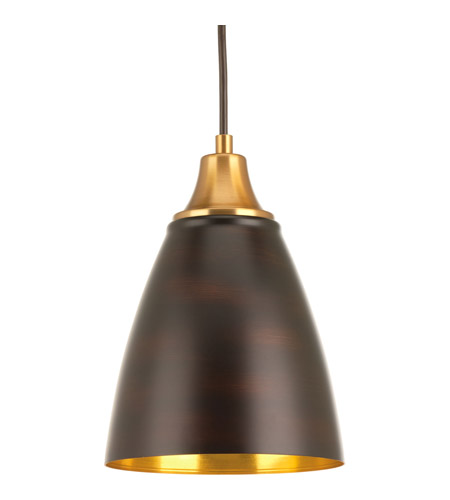 Progress p5175 2030k9 pure led 7 inch natural brass pendant ceiling progress p5175 2030k9 pure led 7 inch natural brass pendant ceiling light in antique bronze aloadofball Choice Image