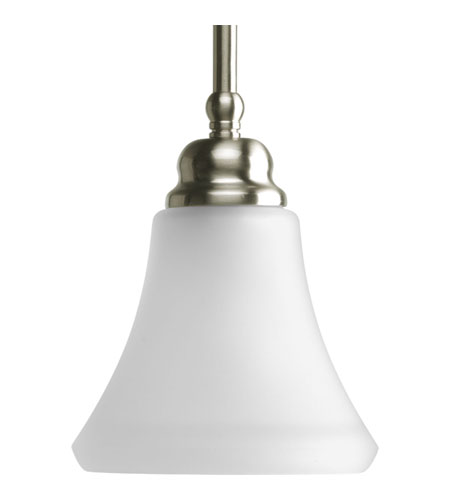 Progress P5176-09 Janos 1 Light 6 inch Brushed Nickel Mini-Pendant Ceiling Light photo
