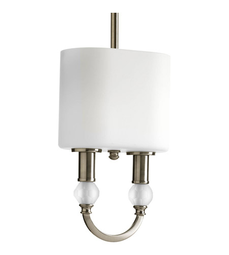 Progress Lighting Thomasville Splendid 2 Light Mini-Pendant in Brushed Nickel P5304-09 photo