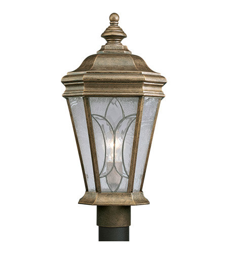Progress Lighting Cranbrook 1 Light Outdoor Post Lantern in Burnished Chestnut P5458-86 photo