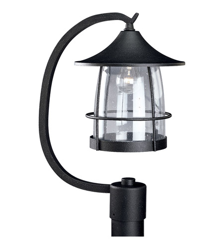 Progress Lighting Prairie 1 Light Outdoor Post Lantern in Gilded Iron P5463-71 photo