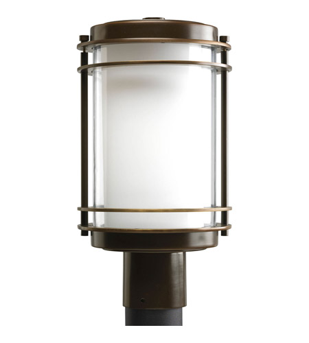 Progress P5472-108 Penfield 1 Light 15 inch Oil Rubbed Bronze Outdoor Post Lantern photo