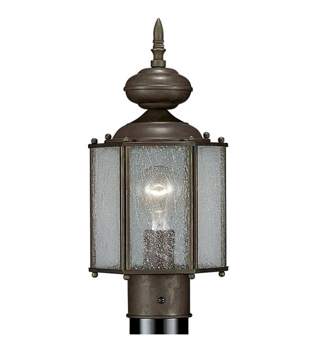Progress Lighting Roman Bronze 1 Light Outdoor Post Lantern in Roman Bronze P5475-19 photo