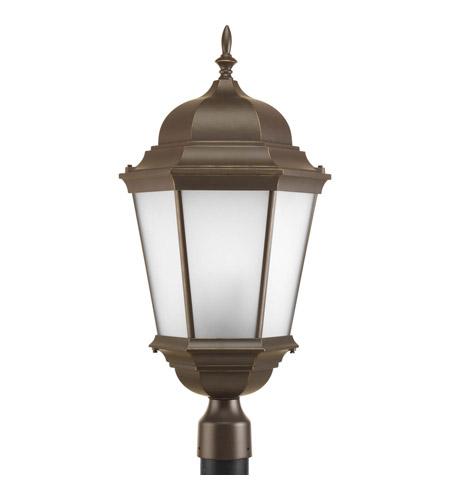 Progress Lighting Welbourne 3 Light Outdoor Post Lantern in Antique Bronze P5483-20 photo
