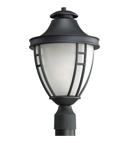 Progress Lighting Fairview 1 Light Outdoor Post Lantern in Black P5489-31 photo