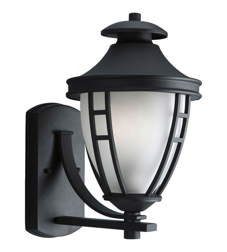 Progress Lighting Fairview 1 Light Outdoor Wall Lantern in Black P5494-31 photo