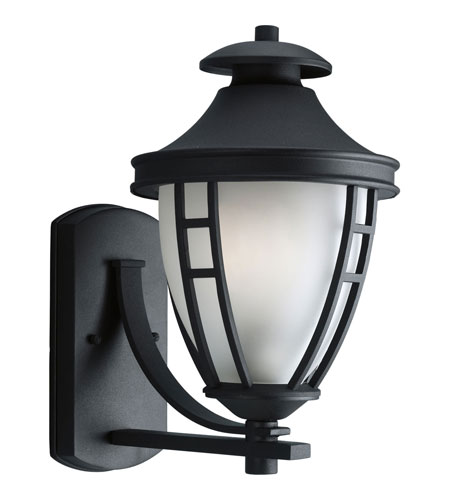 Progress P5494-31STR Fairview 1 Light 15 inch Black Outdoor Wall Lantern in Energy Star Rated photo