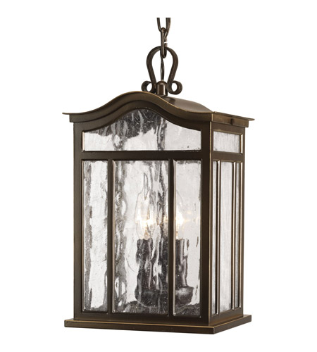 Progress P5502-108 Meadowlark 3 Light 9 inch Oil Rubbed Bronze Outdoor Hanging Lantern photo