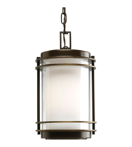 Progress P5503-108 Penfield 1 Light 8 inch Oil Rubbed Bronze Outdoor Hanging Lantern photo