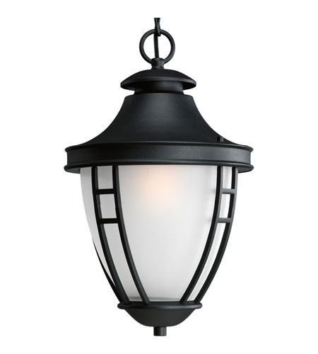 Progress Lighting Fairview 1 Light Outdoor Hanging Lantern in Black P5547-31STR photo