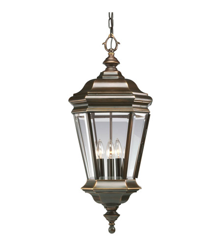 Progress Lighting Crawford 4 Light Outdoor Hanging in Oil Rubbed Bronze P5574-108 photo