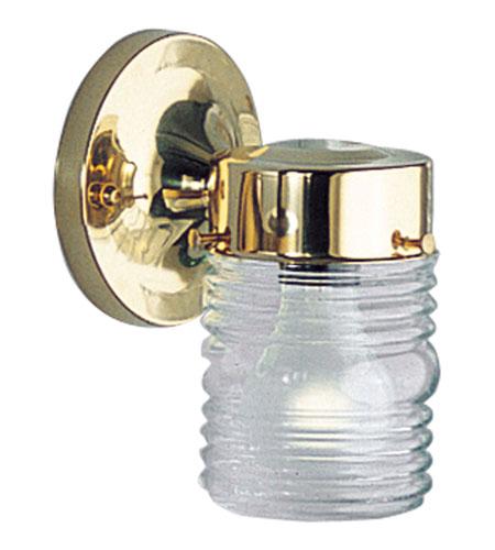 Progress P5602-10 Utility Lantern 1 Light 7 Inch Polished