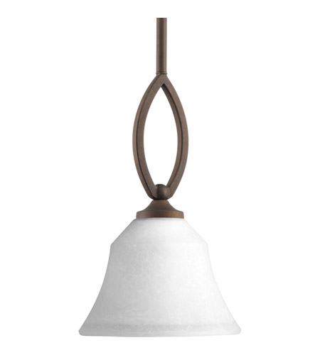 Progress P5621-102 Monogram 1 Light 7 inch Roasted Java Mini-Pendant Ceiling Light photo