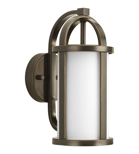 Progress Lighting Greetings 1 Light Outdoor Wall Lantern in Antique Bronze P5631-20 photo