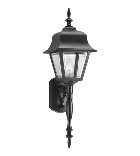 Progress P5657-31 Non-Metallic 1 Light 25 inch Black Outdoor Wall Lantern