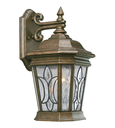 Progress Lighting Cranbrook 1 Light Outdoor Wall Lantern in Burnished Chestnut P5658-86 photo