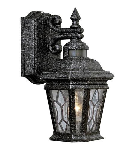 Progress P5661 71 Motion Sensor 1 Light 13 Inch Gilded Iron Outdoor Wall Lantern Photo