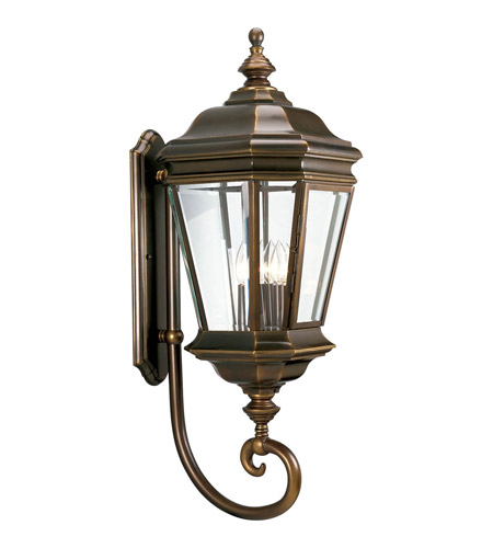 Solid Brass Construction Outdoor Wall Lights