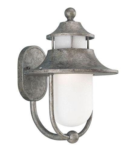 Progress P5678 50 Cape Cod 1 Light 16 Inch Golden Baroque Outdoor Wall Lantern