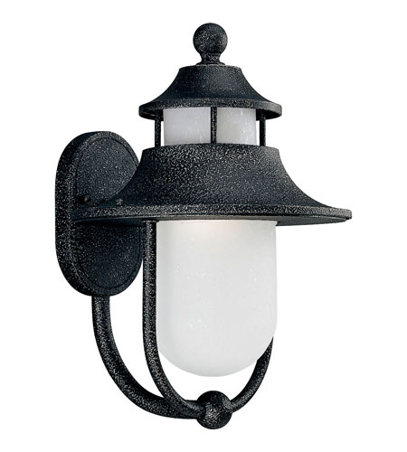 Progress P5678-71STR Cape Cod 1 Light 16 inch Gilded Iron Outdoor Wall Lantern in Energy Star Rated photo