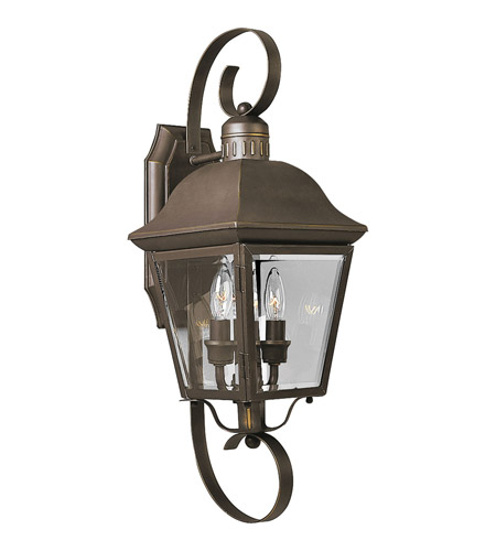 Progress P5688-20 Andover 2 Light 21 inch Antique Bronze Outdoor Wall Lantern photo