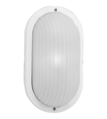 Progress Lighting Polycarbonate Outdoor 1 Light Outdoor Wall in White P5704-30 photo