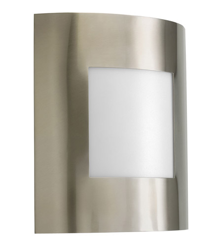 Progress P5736-09 Anson 1 Light 10 inch Brushed Nickel Outdoor Wall Lantern photo
