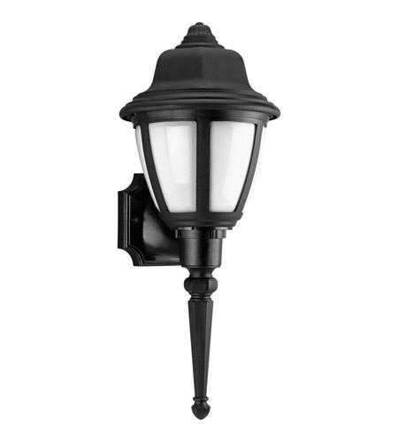 Progress P5748-31WB Non-Metallic 1 Light 20 inch Black Outdoor Wall Lantern in Bulbs Included
