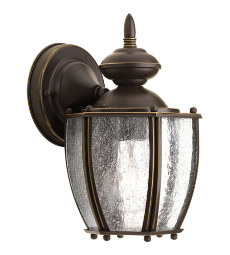 Progress P5762-20 Roman Coach 1 Light 10 inch Antique Bronze Outdoor Wall Lantern photo