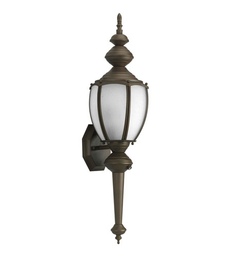 Progress P5772-19STR Roman Coach 1 Light 20 inch Roman Bronze Outdoor Wall Lantern in Energy Star Rated photo