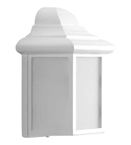 Progress Lighting Millford 1 Light Outdoor Wall Lantern in White P5821-30 photo