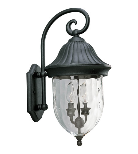 Progress Lighting Coventry 2 Light Outdoor Wall Lantern in Textured Black P5829-31 photo