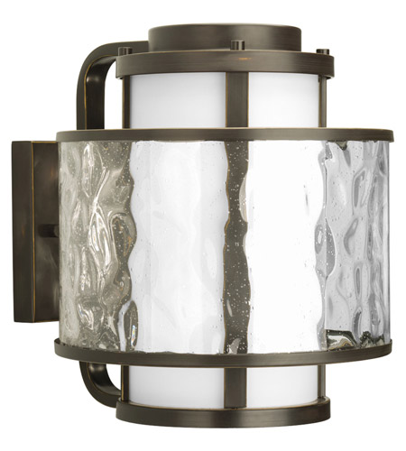 Progress Lighting Thomasville Bay Court Outdoor 1 Light Outdoor Wall Lantern in Antique Bronze P5851-20 photo