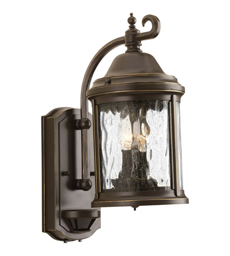 Progress P5854-20 Ashmore 2 Light 15 inch Antique Bronze Outdoor Wall Lantern photo