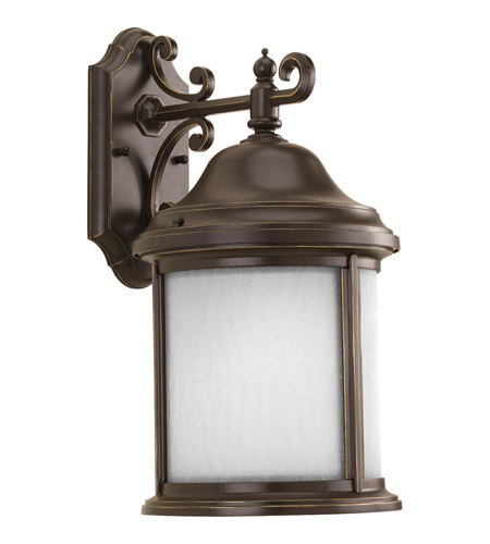 Progress P5875-20WB Ashmore 1 Light 17 inch Antique Bronze Outdoor Wall Lantern photo